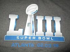 SUPER BOWL LIII NEW ENGLAND PATRIOTS vs LOS ANGELES RAMS Atlanta (XL) T-Shirt