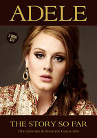 ADELE New Sealed 2018 HISTORY, BIOGRAPHY & MORE DVD & CD SET