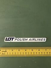 Lot Polish Airlines Decal/sticker