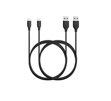 Anker 2-Pack Micro USB 2.0 Cable Powerline Sync Cord Phone Charger S7 S6 6ft New