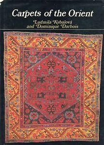 Antique Oriental Carpets Regions Types Symbols / Scarce Illustrated Book