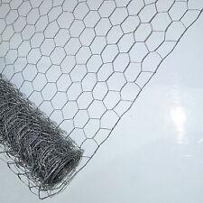 25m x 13mm 600mm galvanisé jardin filet poulet lapin wire mesh
