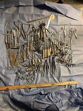 Surgical Instruments Lot Orthopedic Trauma OR Bone Clamps Retractors