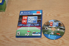 VR Ping Pong Pro PS4 Game (PSVR Required)