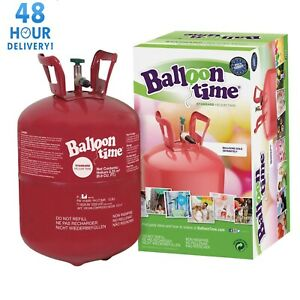 Balloon Helium Gas Cylinder Disposable Canister Birthday Party 30 / 150 Balloons