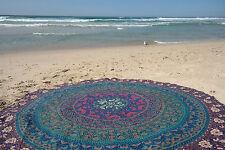 Mandala Round Indian Hippie Beach Table Cloth Throw Bohemian Tapestry Yoga Mat