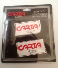 Boxing Hand Wrap Black Elasticated