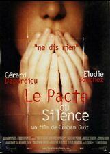 affiche du film PACTE DU SILENCE (LE) 40x60 cm