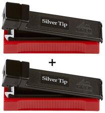 GIZEH Silver Tip Boy / 2er (Stopfer, Stopfmaschine)