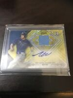 Bowman Platinum Will Myers Jersey Relic Auto SSP Padres Devil Rays /15
