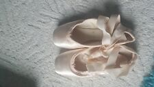 Beautiful Used  Light Pink Pointe shoes ballet ballerina decorating art craft