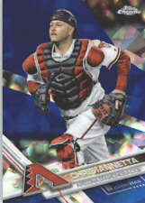 CHRIS IANNETTA 2017 TOPPS CHROME SAPPHIRE EDITION #412 ONLY 250 MADE