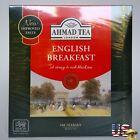 Ahmad Tea London Brand English Breakfast 100 Ceylon Tea Bags Strong& Rich Black