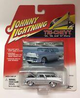 Johnny Lightning Truck-Chevy 1956 Chevy Nomad Silver '56