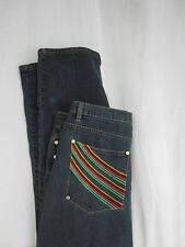 COOGI Australia Jeans 40 x 32 Embroider Design Mens Denim Pants