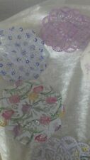 Coloured  CRAFT Paper Doilies 4 inch round