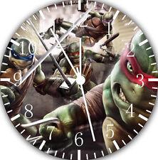 "Teenage Mutant Ninja Turtles wall Clock 10"" nice Gift and Room wall Decor E36"