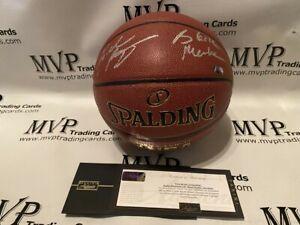 Kobe Bryant Authentic Signed F/S Spalding Ball w/ Black Mamba Inscribed - Panini