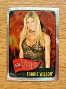 2006 Topps Chrome Heritage WWE Divas #61 Torrie Wilson