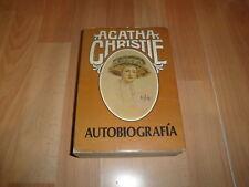 AGATHA CHRISTIE AUTOBIOGRAFIA LIBRO EDICION DEL AÑO 1978 DE EDITORIAL MOLINO