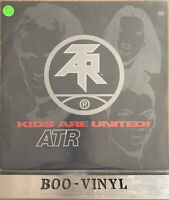 "Atari Teenage Riot  Kids Are United 12"" vinyl record hardcore / techno EX / VG +"