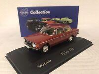 Atlas 1:43 Volvo 142 ModellautoNEU OVP Rot Limousine Geschenk Sammeln