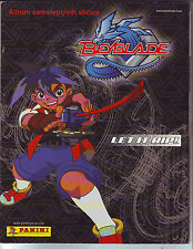 COMPLETE ALBUM WITH ALL STICKERS + POSTER - BEYBLADE LET IT RIP! PANINI