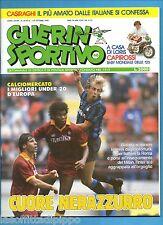 GUERIN SPORTIVO-1990 n.40- CUORE NERAZZURRO-CASIRAGHI-CAPIROSSI-CAMP.FLASH