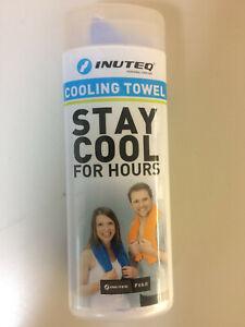 Body Cooling Towel, blau, 78x33 cm