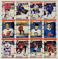 (12) 1990-1991 Score Hockey Card Lot Jaromir Jagr Brodeur Nolan RCs Gretzky