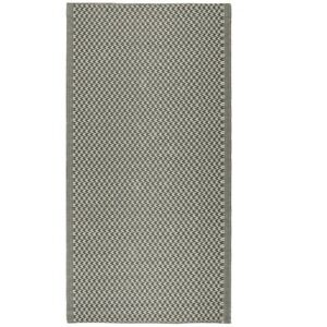 Rug Pattern Recycled Plastic by Ib Laursen 180x90 cm/ Outdoor Area Rug Grey