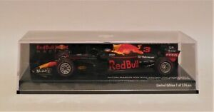 1/43 Minichamps  Aston Martin Red Bull RB14 # 3 Ricciardo Winner 2018 Monaco GP