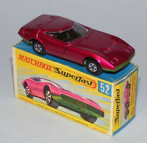 MATCHBOX SUPERFAST #52a DODGE CHARGER MINT BOXED