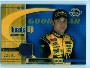 2003 Wheels American Thunder Heads Up Winston  Race Used Hat Matt Kenseth /90 💎