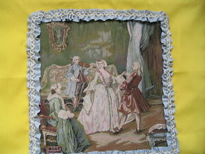 Pillow Cover & Table Runner Tapestry Dance Easter Yellow Free ship