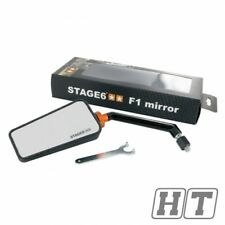 Stage6 Roller Spiegel F1 M8 links carbon Peugeot Ludix 2 Trend 50 Speedfigh