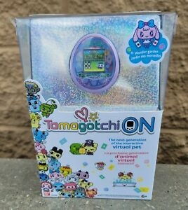 Tamagotchi ON - Wonder Garden Lavender Purple Virtual Pet
