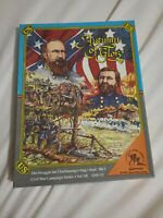 Clash of Arms Wargame  Civil War Series #7 - Autumn of Glory Open Box Unpunched
