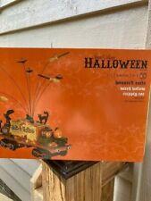 Dept 56 Halloween Haunted Rails Witch Hollow Supply Car Nib