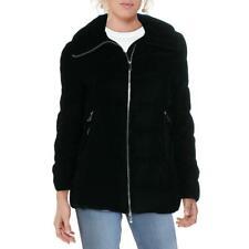 Bcbgeneration женские зимние вниз бархатный пуховик-пальто верхняя одежда bhfo 8546