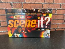 Doctor Who Scene It Family DVD Trivia Game By Mattel *New & Sealed*