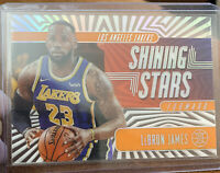 2019-20 Illusions LeBron James Shining Stars Orange Acetate World Champion 🏀📈