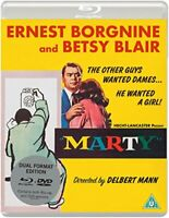 Marty [Eureka Classics] Dual Format (Blu-ray and DVD)[Region 2]
