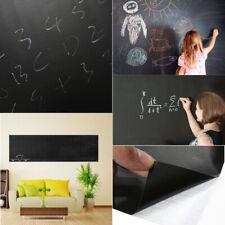 200X60cm Chalk Board Blackboard Vinyl Wall Sticker Decal Removable Chalkboard U