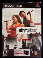 Singstar Rocks PS2 Playstation 2 Game Complete