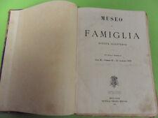 MUSEO DI FAMIGLIA.RIVISTA ILLUSTRATA.I°SEMESTRE 1876.TREVES 26 NUMERI.