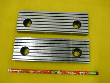 Set Of 2 New Vise Jaws Mill Milling Machine Work Holder Tool 58 X 2 X 6 14