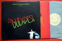 MANFRED MANN'S EARTH BAND BUDAPEST +INNER EXYUG LP MINT