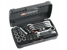 Facom Stubby Ratcheting Wrench,Socket & Bit Set 467S.BOXPB Premium Quality Offer
