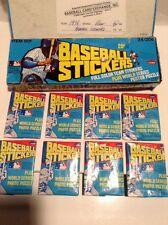 Lot of (3) 1979 Fleer Baseball Stickers Wax Packs Guaranteed Unopened BBCE